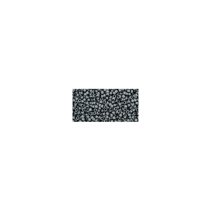 TR-15-611 MATTE-COLOR OPAQUE GRAY TOHO SEED BEADS