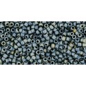 TR-15-612 MATTE-COLOR GUN METAL TOHO SEED BEADS