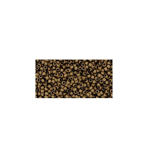 TR-15-702 MATTE-COLOR DARK COPPER TOHO SEED BEADS