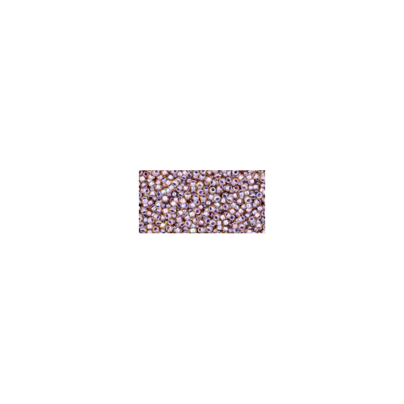 TR-15-85 METALLIC IRIS PURPLE TOHO SEED BEADS