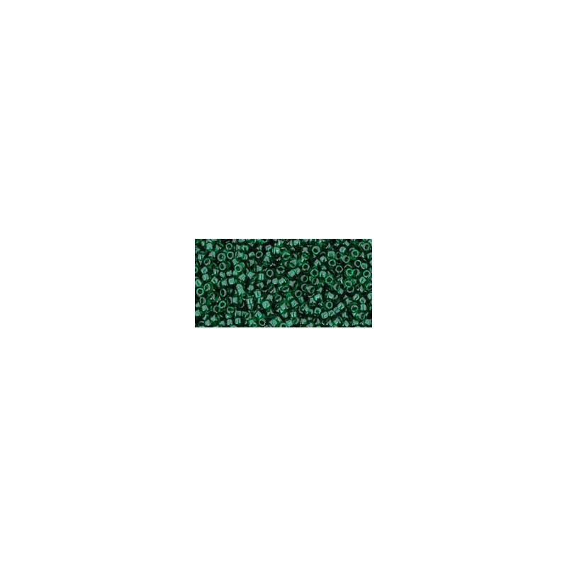 TR-15-939 TRANSPARENT GREEN EMERALD TOHO SEED BEADS