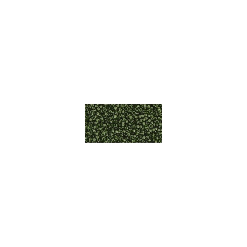TR-15-940 TRANSPARENT OLIVINE TOHO SEED BEADS
