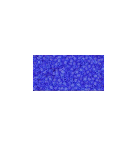 TR-15-942F TRANSPARENT-FROSTED SAPPHIRE TOHO SEED BEADS