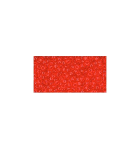 TR-11-5 TRANSPARENT LT SIAM RUBY TOHO SEED BEADS