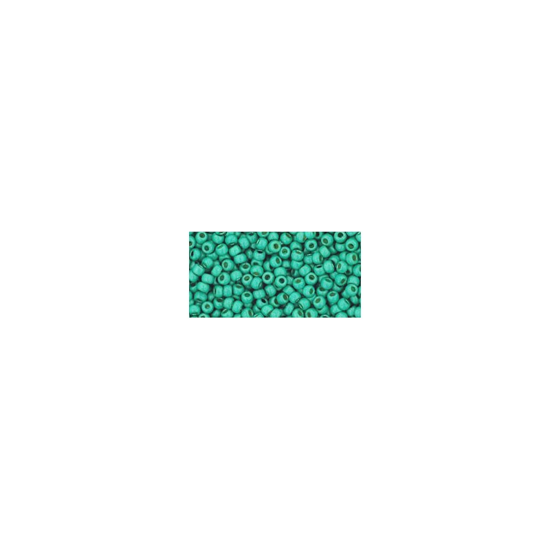 TR-11-PF561F PERMANENT FINISH - MATTE GALVANIZED GREEN TEAL TOHO SEEMNEHELMEID