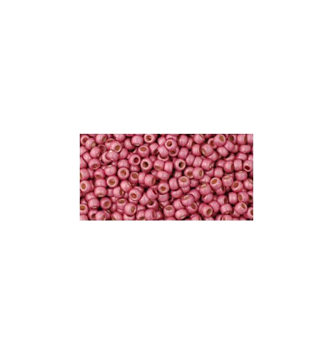 TR-11-PF563F PERMANENT FINISH - MATTE GALVANIZED ORCHID TOHO SEED BEADS