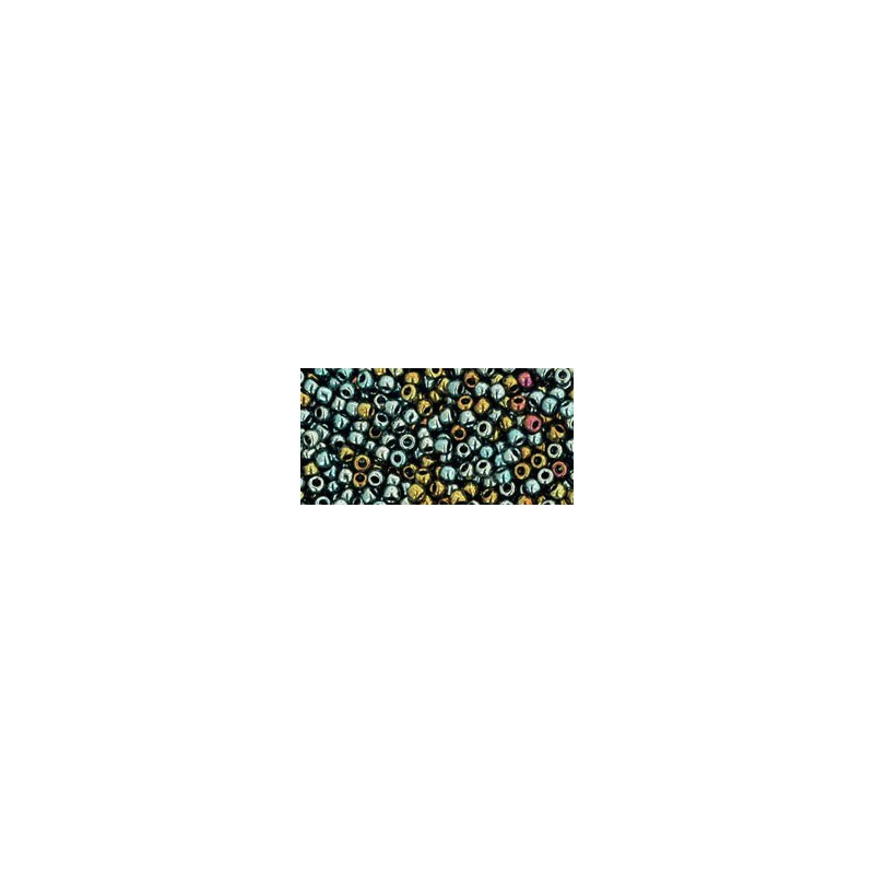 TR-11-721 GALVANIZED BLUE GOLD TOHO SEED BEADS