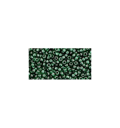 TR-11-939 TRANSPARENT GREEN EMERALD TOHO SEEMNEHELMEID