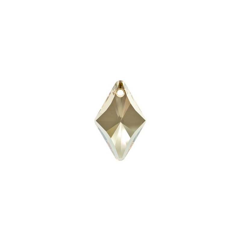 19MM Crystal Golden Shadow (001 GSHA) Rhombus Pendants 6320 SWAROVSKI ELEMENTS