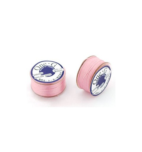 PINK TOHO One-G Beading Thread 330dTex Bobbin 46m (50yd) long