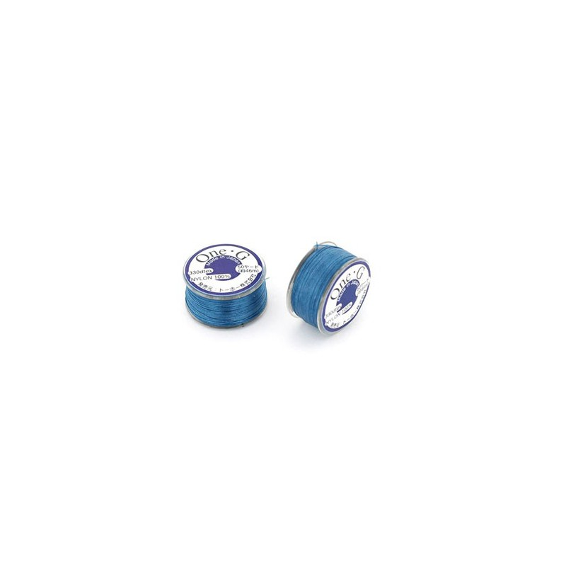BLUE TOHO One-G Beading Thread 330dTex Bobbin 46m (50yd) long
