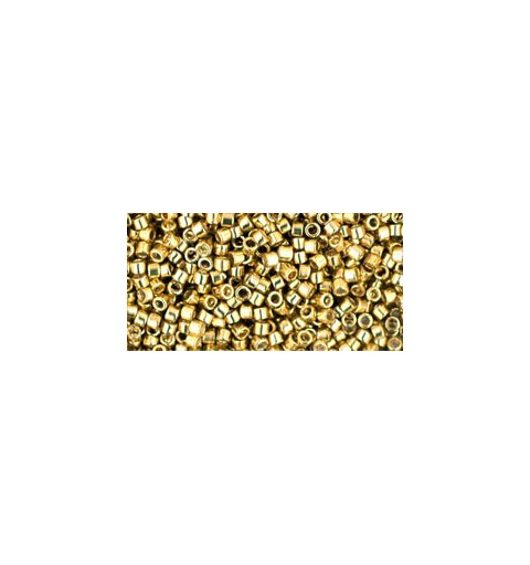 TT-01-559 GALVANIZED YELLOW GOLD TOHO Treasures 12/0