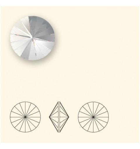 14MM Crystal Rose Gold F (001 ROGL) 1122 Rivoli Chaton SWAROVSKI ELEMENTS