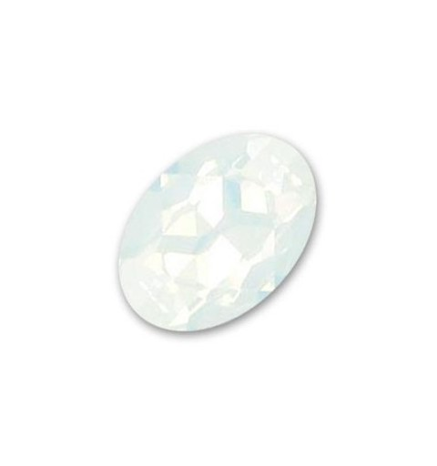 14x10mm White Opal F (234) Oval Fancy Stone 4120 Swarovski Elements