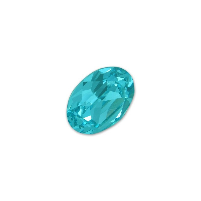 14x10mm Light Turquoise F (263) Oval Fancy Stone 4120 Swarovski Elements