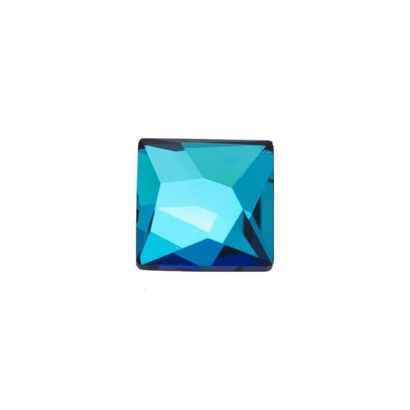10MM Crystal Bermuda Blue F (001 BB) 2420 Asümmeetriline Ruut SWAROVSKI ELEMENTS