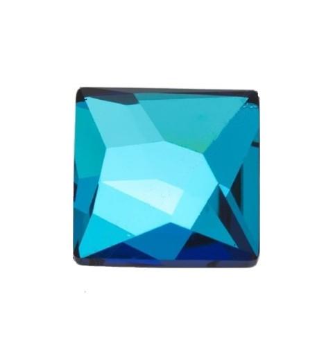 10MM Crystal Bermuda Blue F (001 BB) 2420 Asymmetric Square SWAROVSKI ELEMENTS