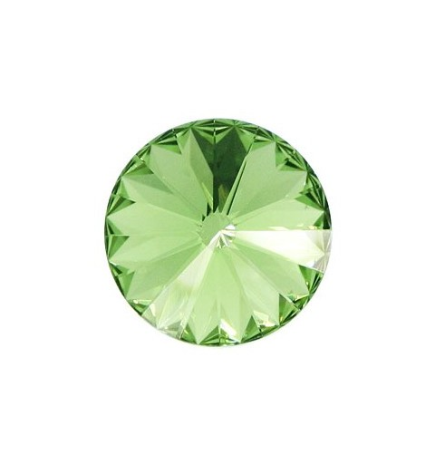 12MM Peridot F (214) 1122 Rivoli Chaton SWAROVSKI ELEMENTS