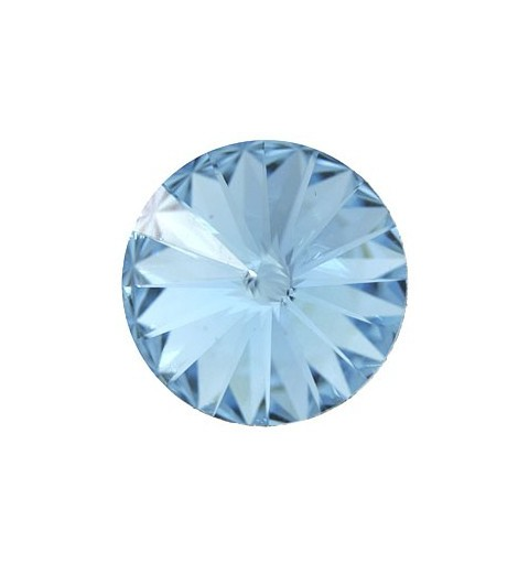 18MM Aquamarine F (202) 1122 Rivoli Chaton SWAROVSKI ELEMENTS