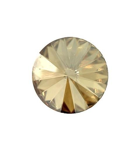 18MM CRYSTAL Golden Shadow F (001 GSHA) 1122 Rivoli Chaton SWAROVSKI ELEMENTS
