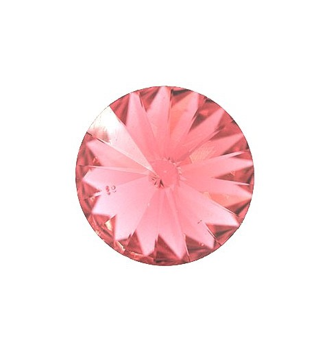 14MM Padparadscha Unfoiled (542) 1122 Rivoli Chaton SWAROVSKI ELEMENTS