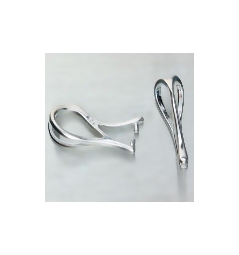 STERLING SILVER 925 HANGING PART FOR PENDANTS 16X5MM 0,664G