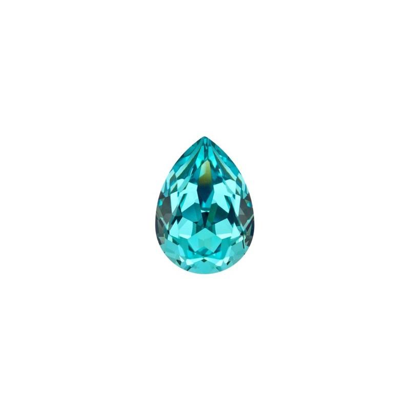 14x10mm Light Turquoise F (263) Грушевидный Кристалл для украшений 4320 Swarovski Elements