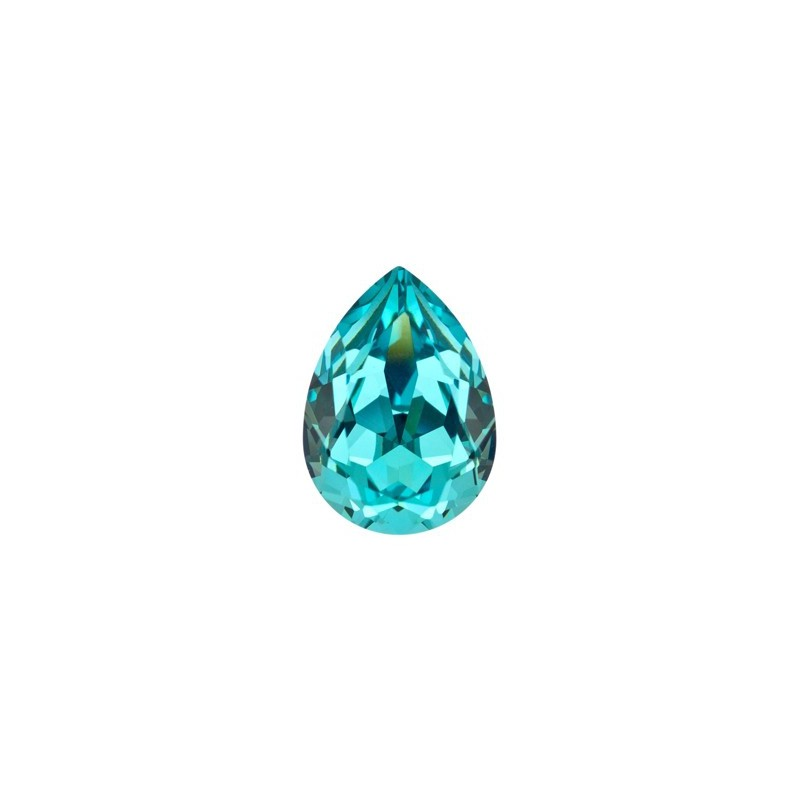 14x10mm Light Turquoise F (263) Pirnikujuline Ehete Kristall 4320 Swarovski Elements