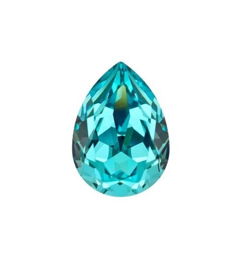 14x10mm Light Turquoise F (263) Pirnikujuline Ehete Kristall 4320 Swarovski Elements