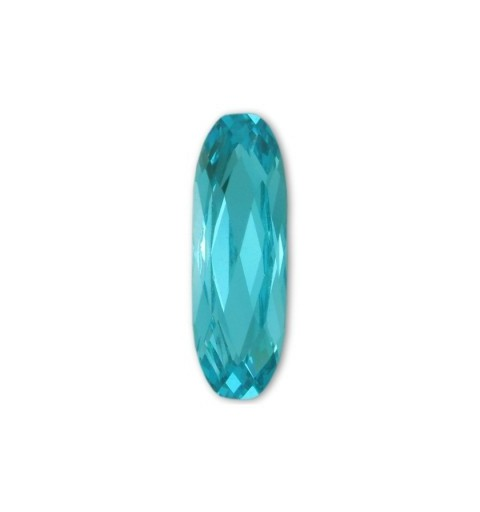 27x9mm Light Turquoise F (263) Long Classical Oval Fancy Stone 4161 Swarovski Elements