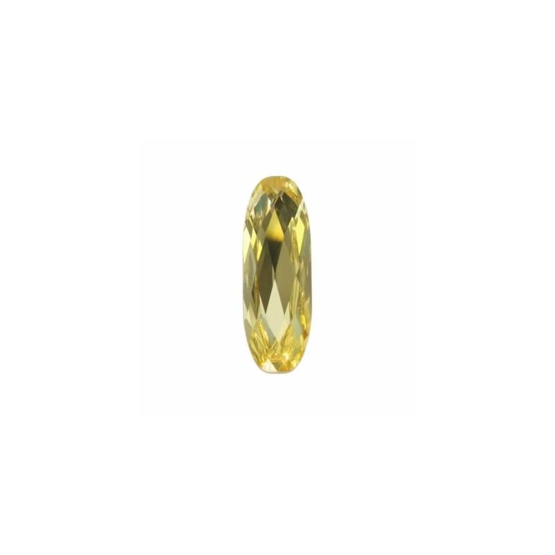 27x9mm Jonquil F (213) Long Classical Oval Fancy Stone 4161 Swarovski Elements