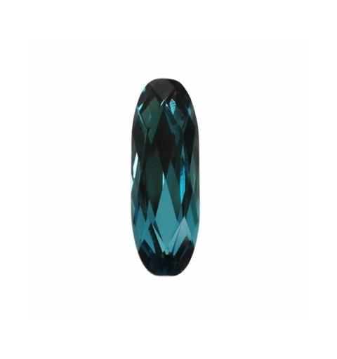 27x9mm Indicolite F (379) Pikk Klassikaline Ovaalne Ehete Kristall 4161 Swarovski Elements