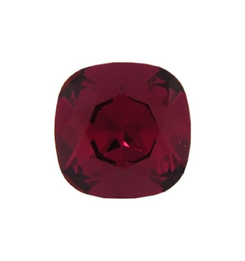 12mm 4470 Ruby F (501) Cushion Square Fancy Stone Swarovski Elements