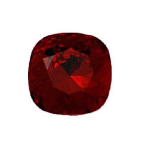 8mm 4470 Siam F (208) Padjakujuline Ruudune Ehte Kristall Swarovski Elements