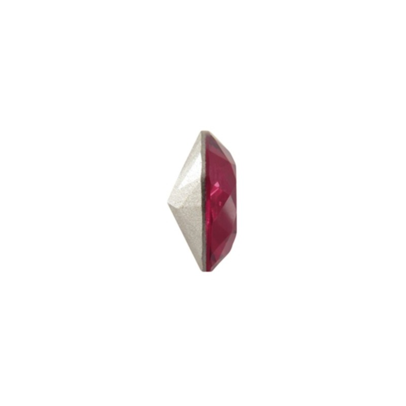 8mm 4470 Siam F (208) Cushion Square Fancy Stone Swarovski Elements