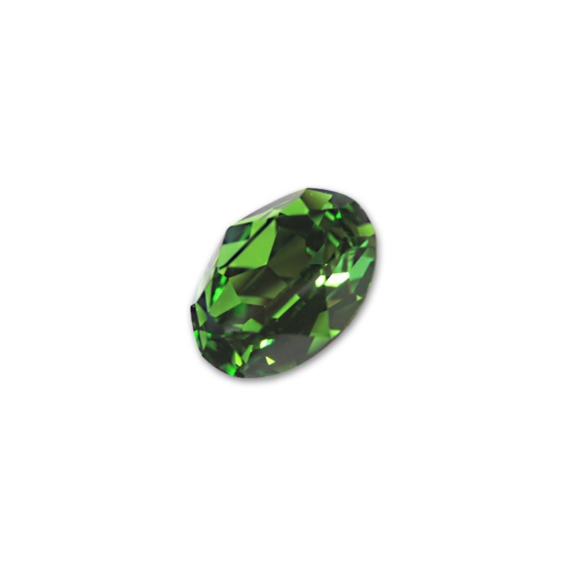14x10mm 4120 Fern Green F (291) Ovaalne Ehte Kristall Swarovski Elements