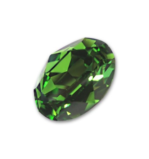 14x10mm 4120 Fern Green F (291) Oval Fancy Stone Swarovski Elements