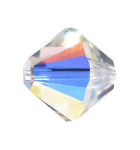 2.5MM CRYSTAL AB 5328 XILION Bi-Cone SWAROVSKI ELEMENTS