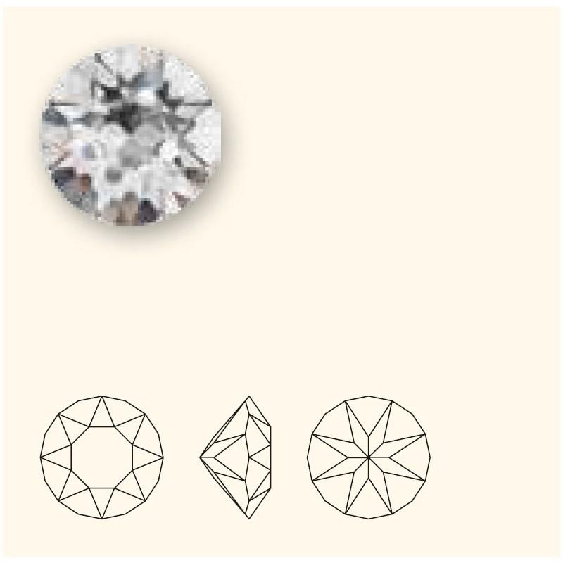 SS39 (~8.25mm) White Opal F (234) 1088 XIRIUS Chaton SWAROVSKI ELEMENTS