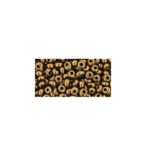 TM-03-221 BRONZE MAGATAMA 3MM TOHO beads