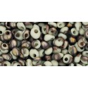 TM-03-Y856F HYBRID FROSTED LT BEIGE APOLLO MAGATAMA 3MM TOHO beads