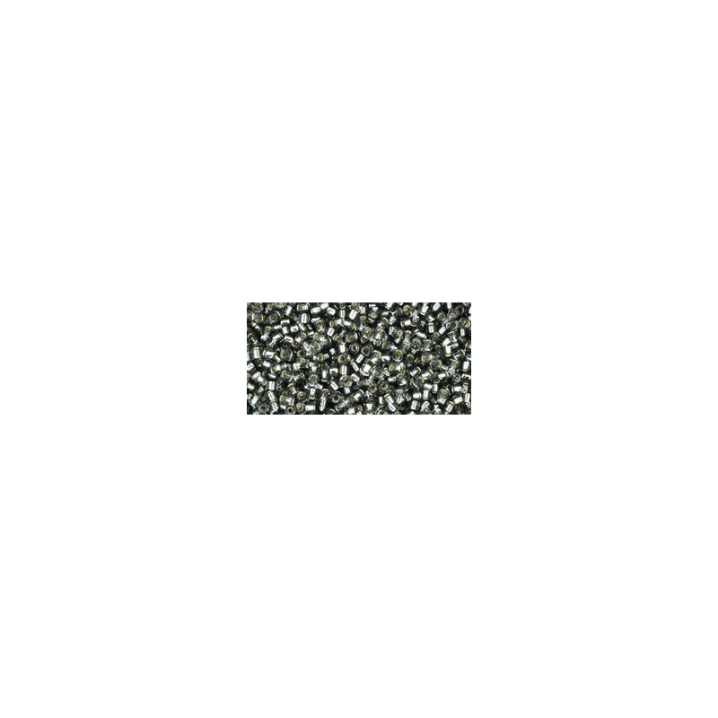 TR-15-29B SILVER-LINED GRAY TOHO SEED BEADS