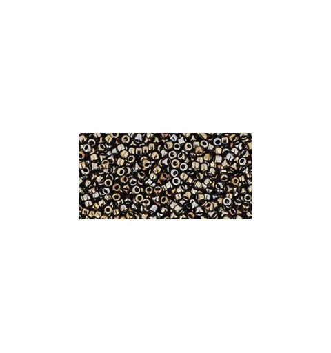TR-15-83 METALLIC IRIS BROWN TOHO SEED BEADS