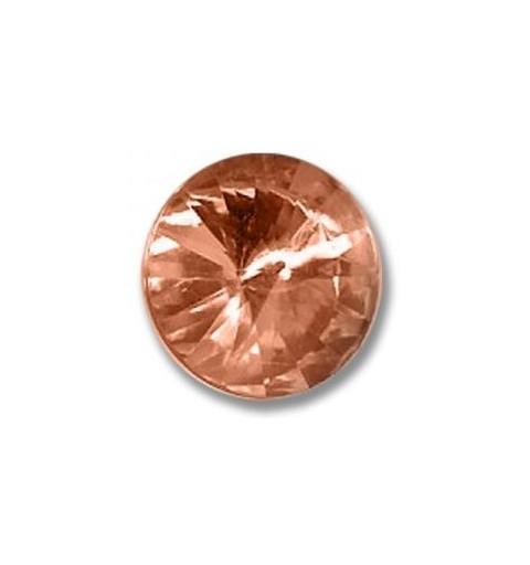 12MM Crystal Apricot F (00030 Apri) Rivoli Czech Preciosa Stone