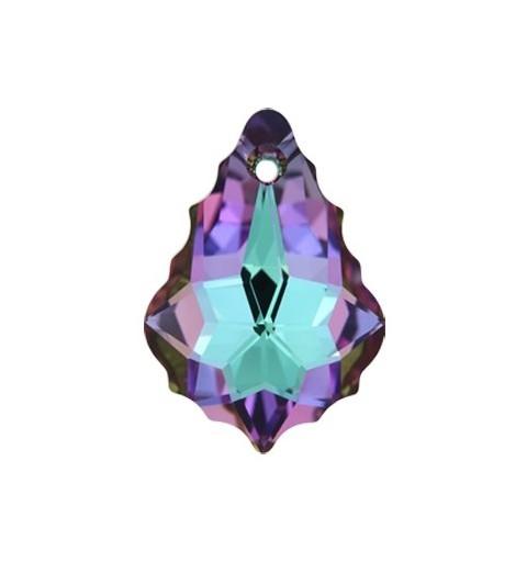 22x15MM Kristall Vitrail Light F (001 VL) Baroque Ripatsid 6090 SWAROVSKI ELEMENTS