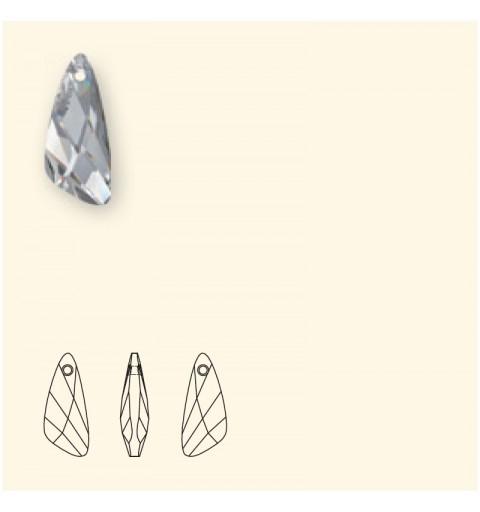23mm Crystal AB (001 AB) Wing Ripatsid 6690 SWAROVSKI ELEMENTS