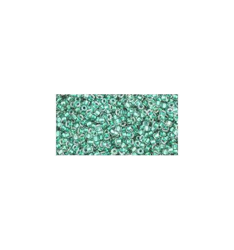 TR-15-264 INSIDE-COLOR RAINBOW CRYSTAL/TEAL LINED TOHO SEEMNEHELMEID