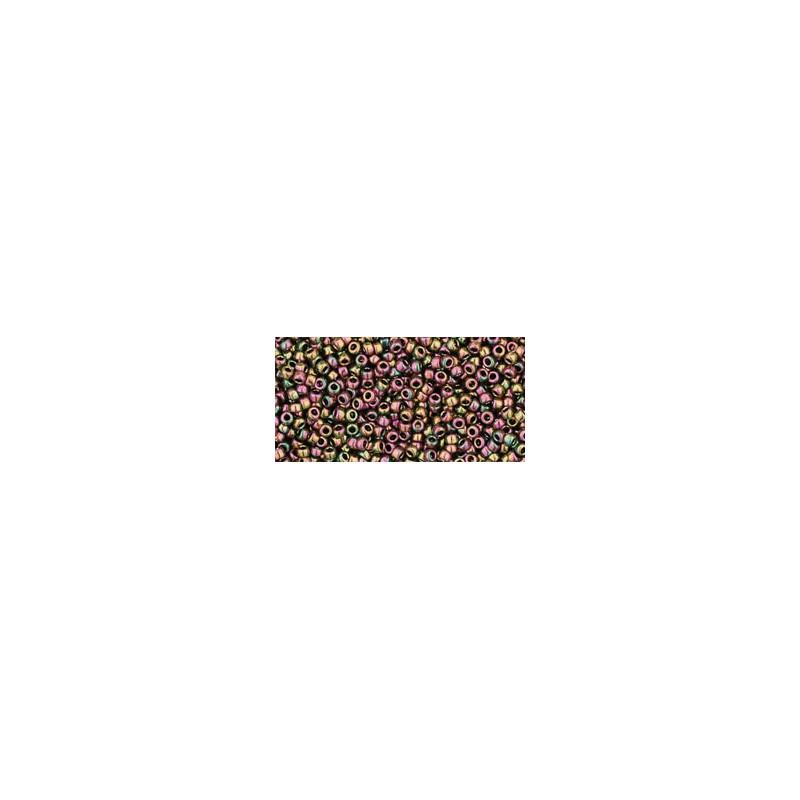 TR-15-509 HIGHER-METALLIC PURPLE/GREEN IRIS TOHO SEEMNEHELMEID