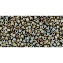TR-15-122 OPAQUE-LUSTERED NAVAJO WHITE TOHO SEED BEADS
