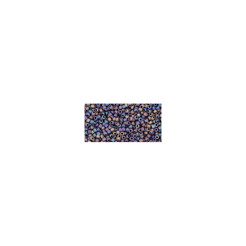 TR-15-615 MATTE-COLOR IRIS PURPLE TOHO SEED BEADS